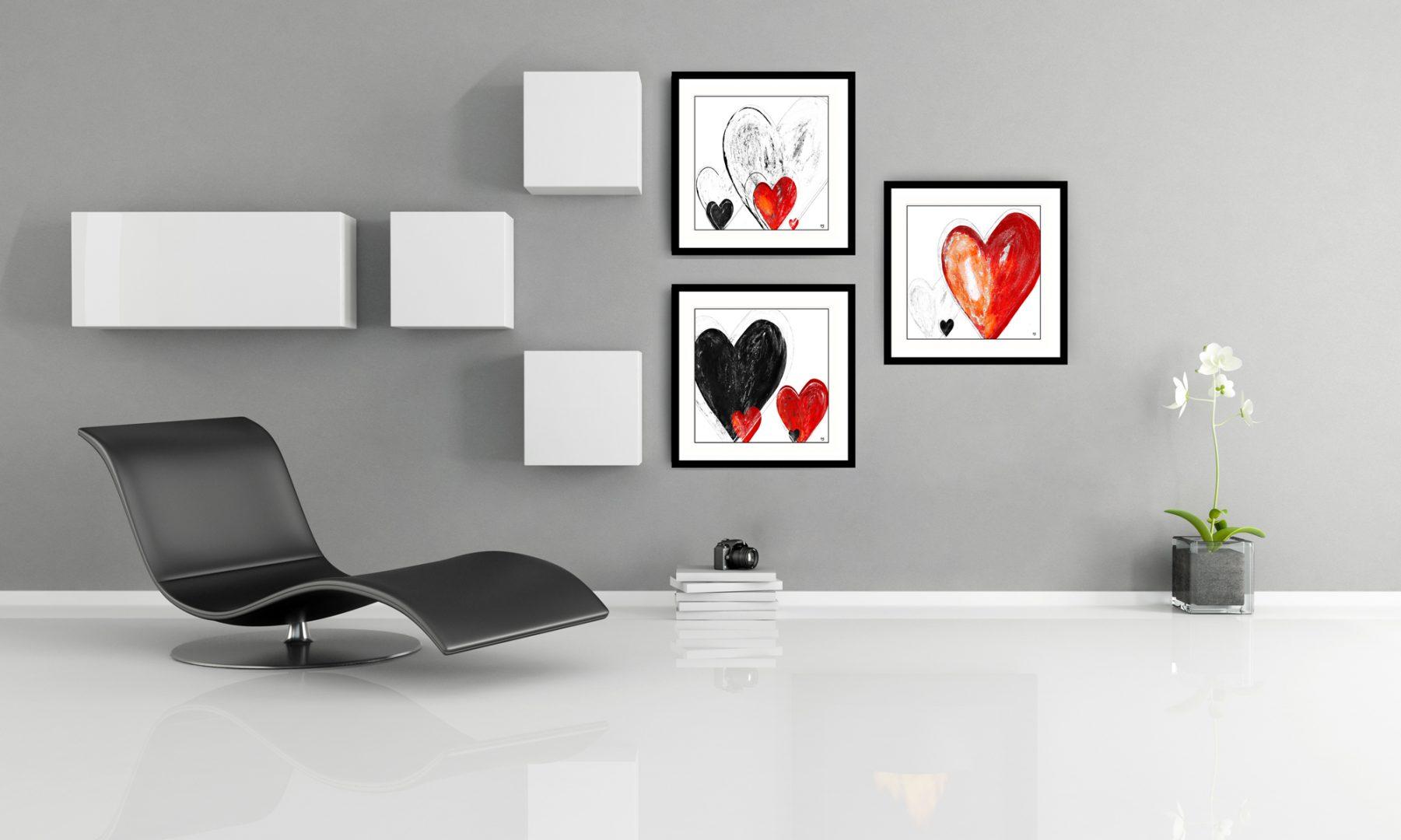Heart artwork by Stef Kerswell