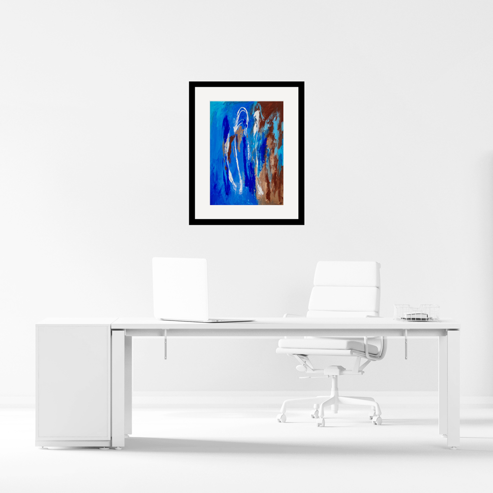 High Altitude giclee print