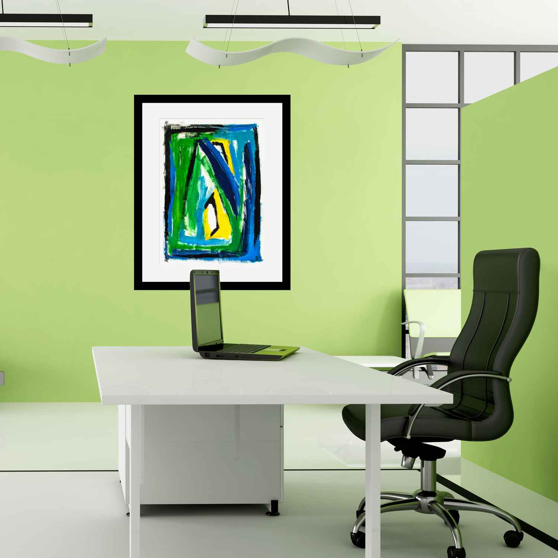 Imagination modern abstract art