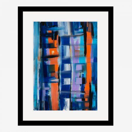 Metropolis Abstract Art