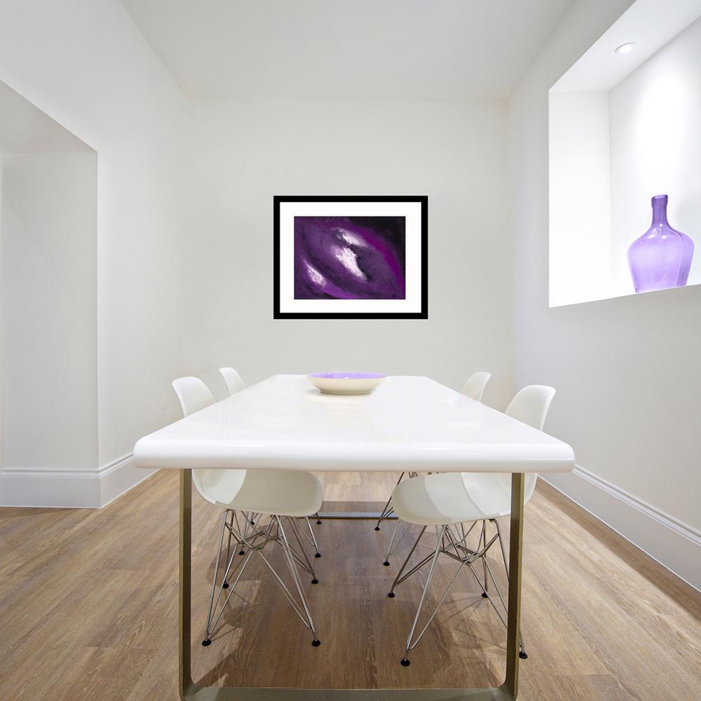 Purple Sky modern art
