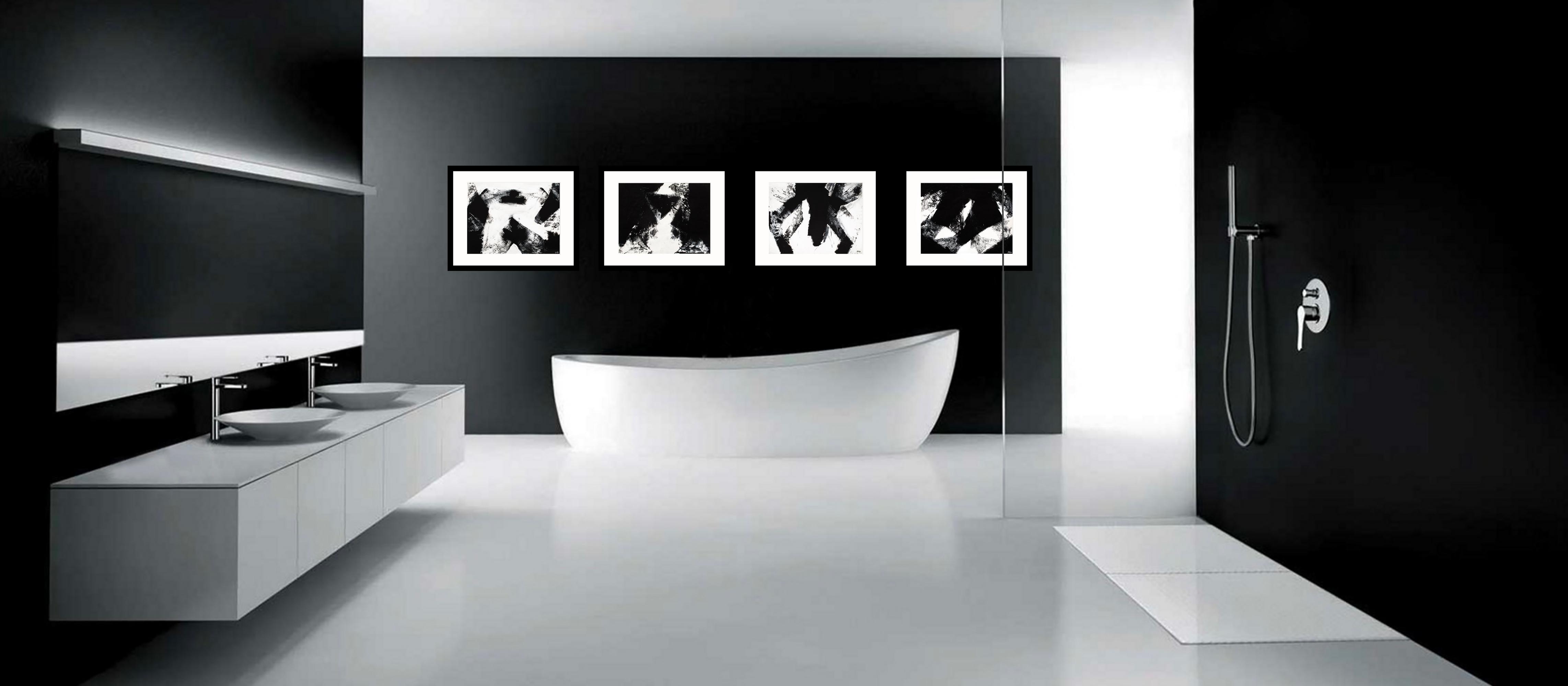 Spectral bathroom set
