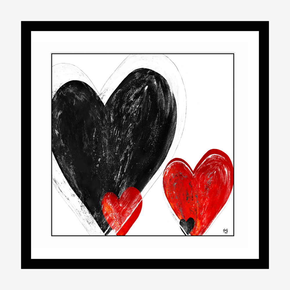 You're in my heart limited edition painting